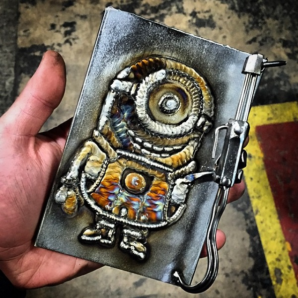 Engineer Geeky Welding Minion - Geek Decor