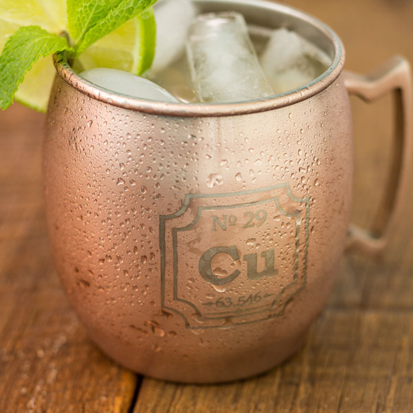 Periodic Copper Mug Drink - Geek Decor