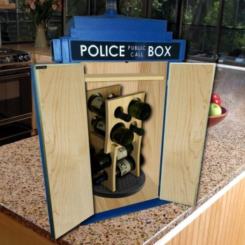 Tardis Cabinets Wine Cabinet - Geek Decor