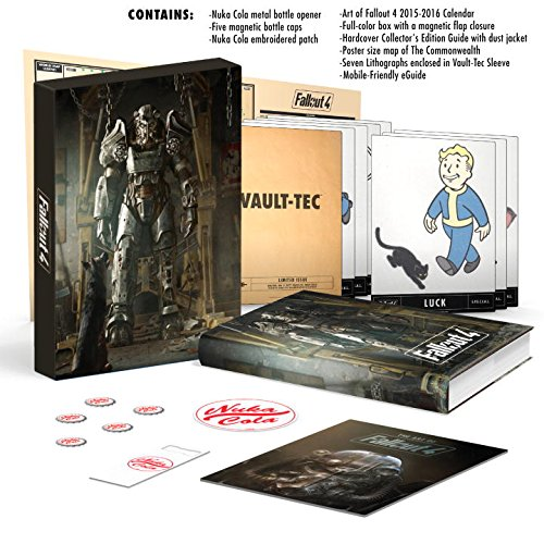 Fallout 4 Ultimate Vault Dweller's Survival Guide Bundle - Geek Decor