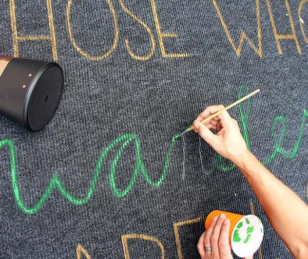 Geek Rug Our Nerd Home Paint - Geek Decor