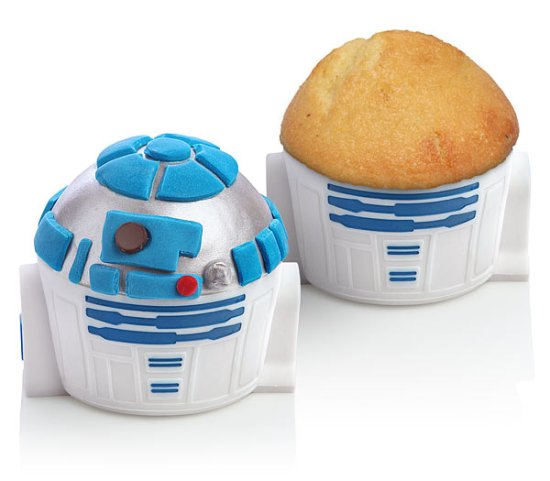 R2-D2 Cupcake Pan - Geek Decor