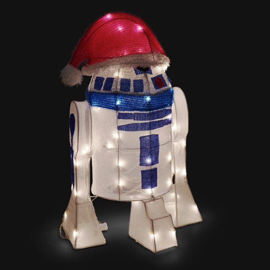 R2-D2 Lawn Ornament - Geek Decor