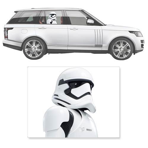 Storm Trooper Car Decal - Geek Decor