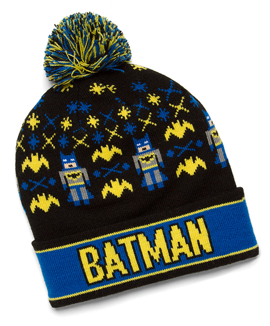 8 Bit Batman Beanie -- Geek Decor