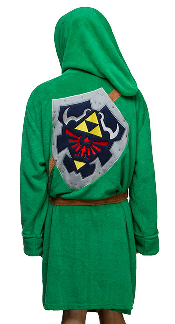 Zelda Kokiri Bathrobe -- Geek Decor