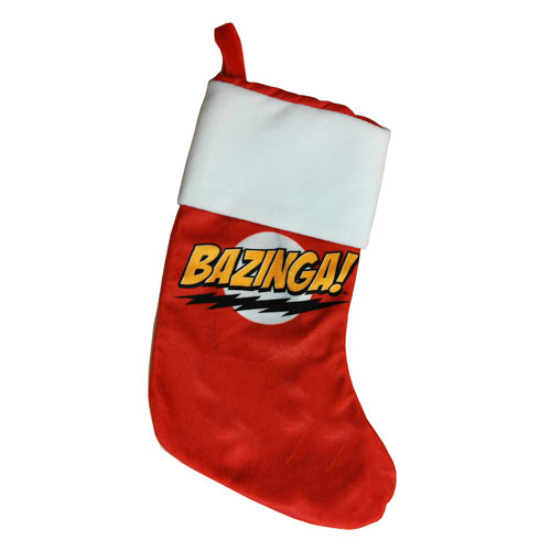 Bazinga Stocking - Geek Decor