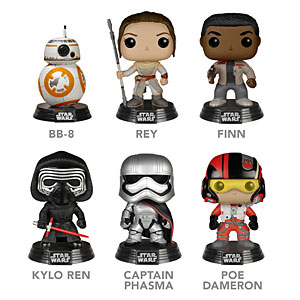 Star Wars Episode VII Vinyl Figures Complete - Geek Decor