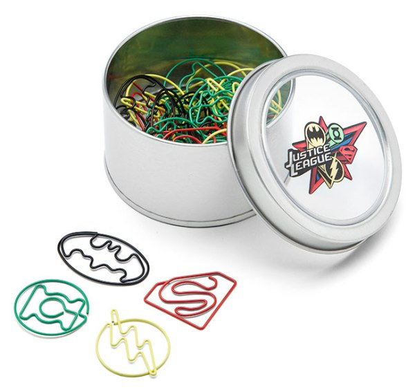 Justice League Paper Clips - Geek Decor