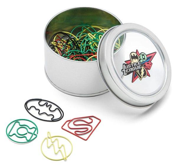Justice League Paper Clips - Geek Decor