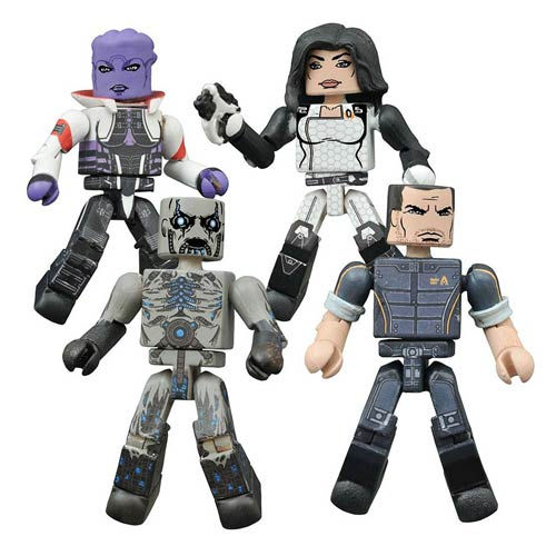 Mass Effect Minimates - Geek Decor