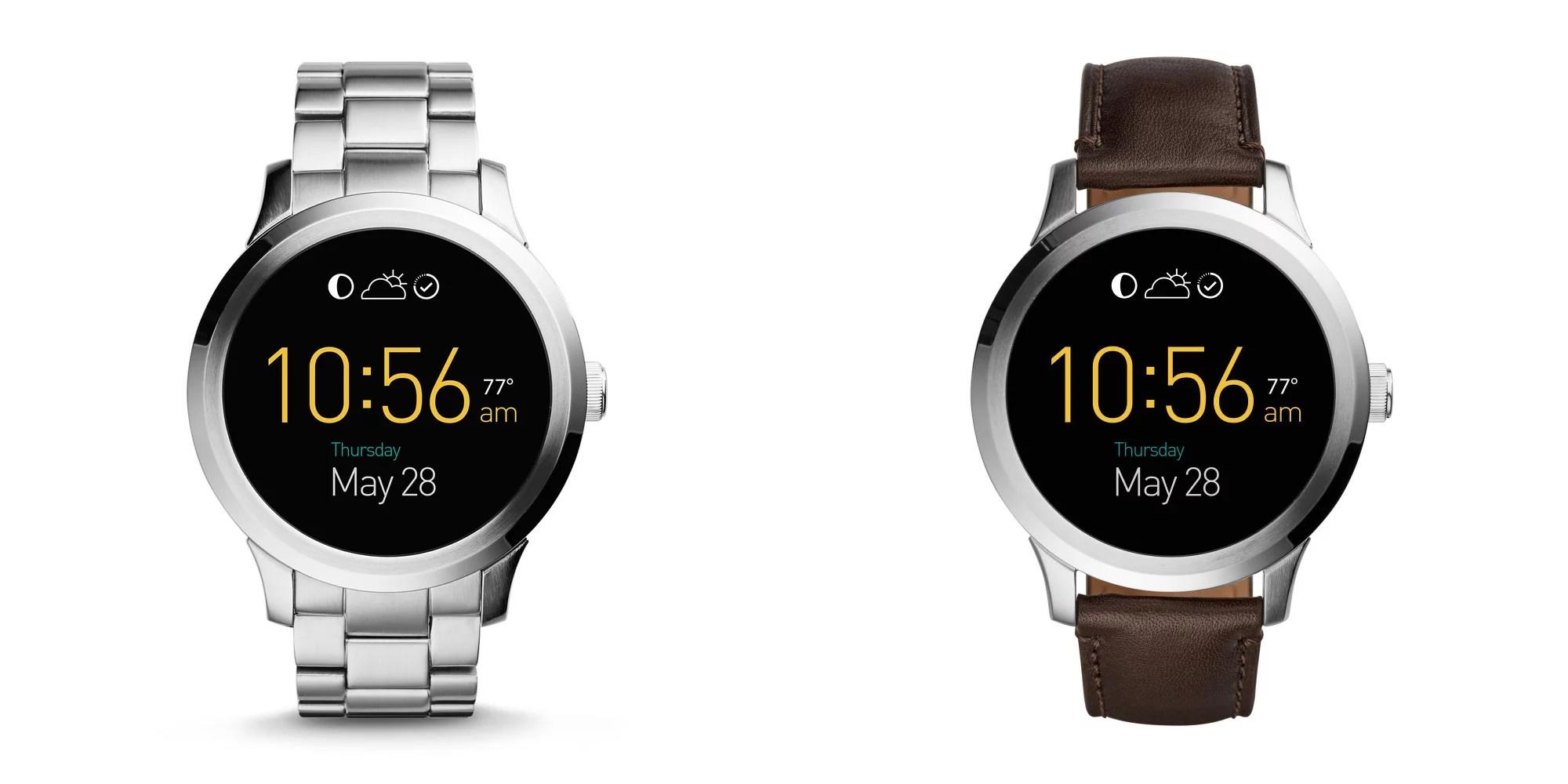 Fossil Q Founder: il nuovo smartwatch con cinturino in pelle o metallo