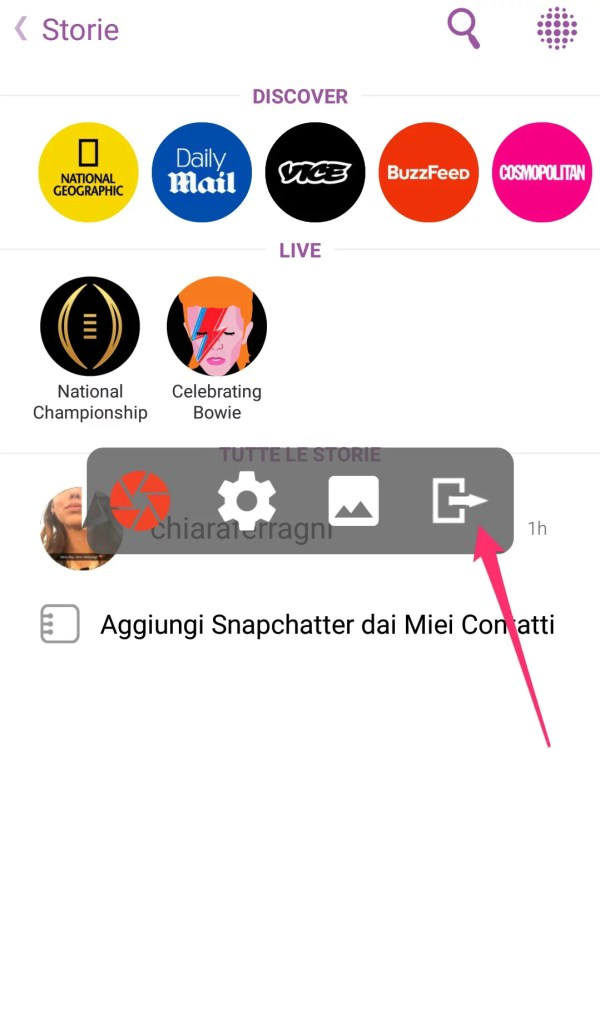 how to find snapchat videos on android