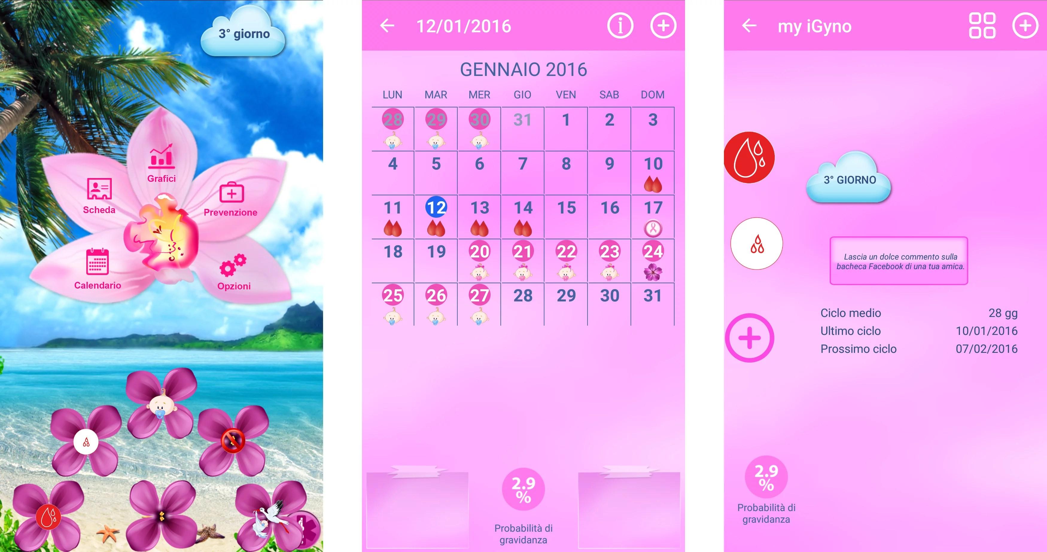 app per monitorare il ciclo