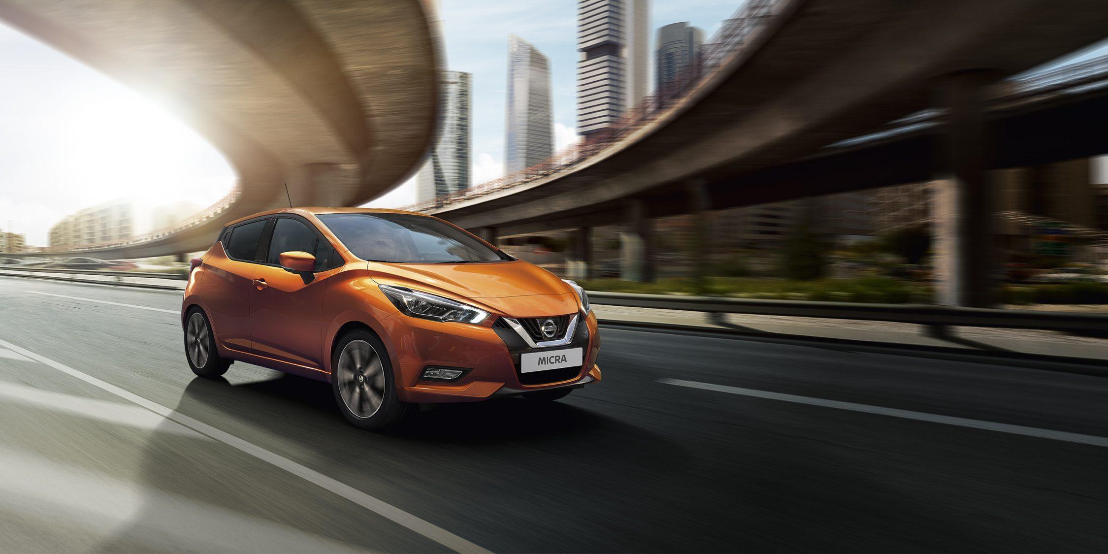 Nuova Nissan Micra: prenota la prova su strada da Renord a Milano