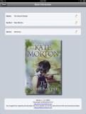 Book Information in uBooks xl