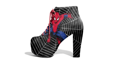 Spiderman Shoes by Lonely Soles