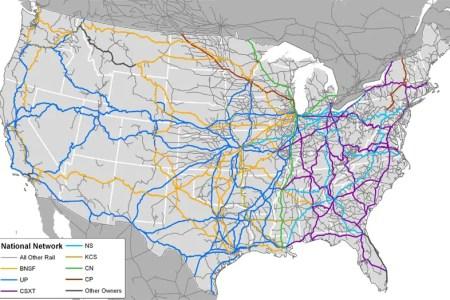 map of american railroads