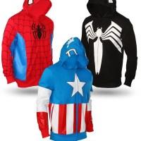 Casacos dos Super-Heróis da Marvel