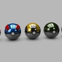 Impressionantes designs de pokébola