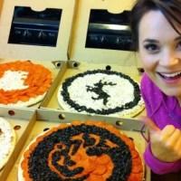 Aprenda a fazer Pizzas de Game Of Thrones com Rosanna Pansino