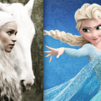 Let it Go(T) - Sensacional essa versão do tema de Frozen num mashup com Game of Thrones