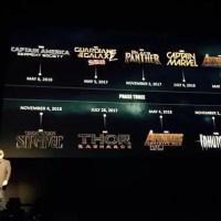 """9 filmes da Marvel são anunciados e teaser de Vingadores 3 """"cai"""" na rede"""