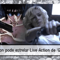 Scarlett Johansson pode estrelar Live Action de 'Ghost In the Shell'