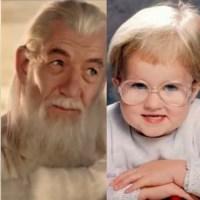 Aleatoriedades Aleatórias   11 Bebês que se parecem com algumas celebridades