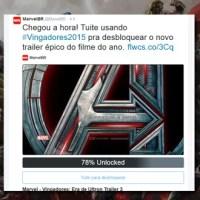 Vingadores: Era de Ultron | Marvel promove ação no Twitter para liberar novo trailer