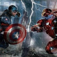 Capitão América 3: Guerra Civil | Primeira arte conceitual do filme mostra o Capitão contra o Homem de Ferro