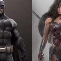 Batman VS Superman | Detalhes dos trajes da trindade nessas lindas artes conceituais