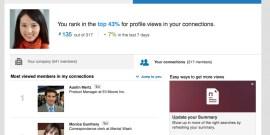 how you rank - Linkedin