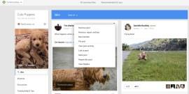 Moderation - Recherche Communautes Google+