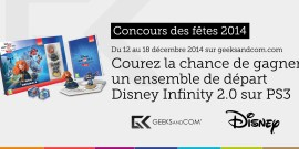 Concours Geeks and Com - Dinsey Infinity 2 - Fetes 2014