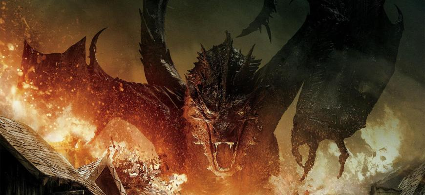The Hobbit The Battle of The Five Armies - Smaug