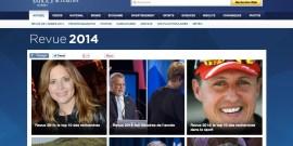 Yahoo Quebec - Revue Annee 2014 - Top 10 des recherches