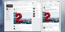 Facebook at Work - Newsfeed