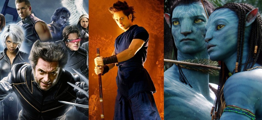 X-Men Avatar Dragon Ball Evolution
