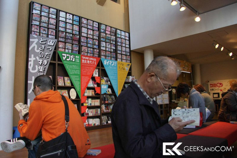 Kyoto International Manga Museum  - Geeks and Com -1