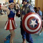 Captain America Cosplayers