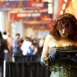 Poison Ivy Reading... Something (New York Comic Con 2011)