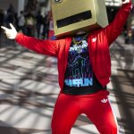 LMFAO Robot (New York Comic Con 2011)