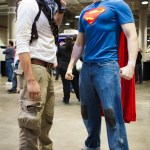 Superman and Nathan Drake