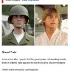 Steve Rogers / Luke Skywalker
