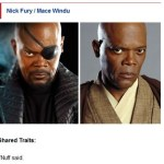 Nick Fury / Mace Windu