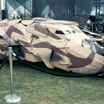 Batmobile (Batman Begins) - Hayley Sargent - SDCC 2012