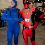 Tick and Deadpool - SDCC 2012 - Hayley Sargent