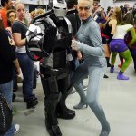 War Machine and Seven of Nine at Montreal Comic Con 2012