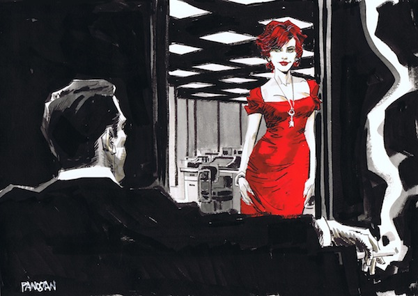 Mad Men Comic Style